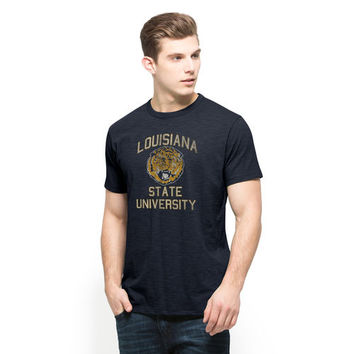 Men's '47 Brand Gold LSU Tigers Vintage Scrum Heathered T-Shirt