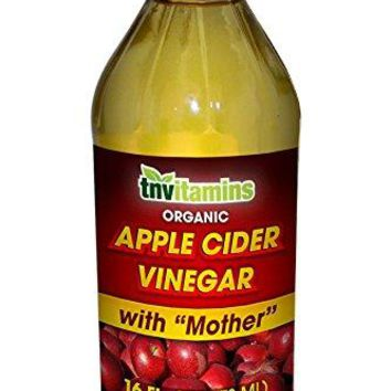 TNVitamins Apple Cider Vinegar with Mother- 16 oz