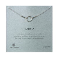 Karma Necklace, Sterling Silver | Dogeared