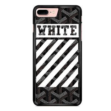 Off White Goyard Black iPhone 7 Plus Case