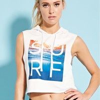 Active Surf Cropped Hoodie
