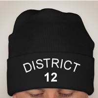 District 12 Beanie from Lucky Fox