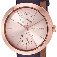 Michael Kors Women's Garner Purple Watch MK2575