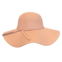 Seasoned Floppy Hat in Pink