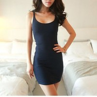 New Sexy Women Summer Casual Sleeveless Party Evening Cocktail Short Mini Dress