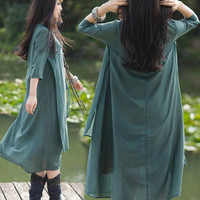 Two Layered women summer dresses