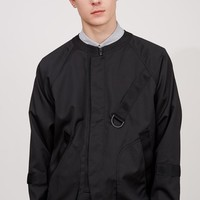 Alexander Wang Laundered Nylon Exposed Pocket Jacket - MEN - JUST IN - Alexander Wang