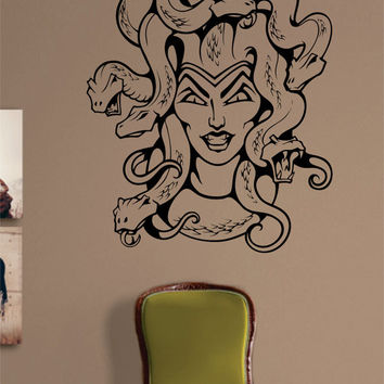 Medusa Tattoo Design Decal Sticker Wall Vinyl Decor Art
