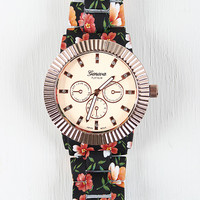 Tropical Print Watch