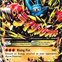 Pokemon M Lucario Ex Furious Fists 55/111