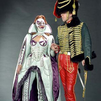 Custom Project THE LEATHER HUSSARS created for the Venice Carnival