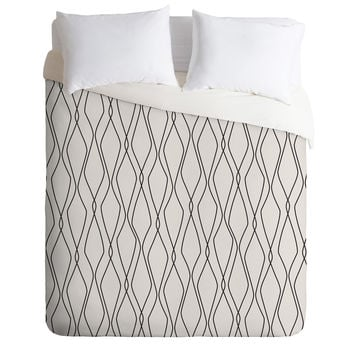 Heather Dutton Fuge Stone Duvet Cover