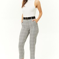 Glen Plaid Ankle Pants