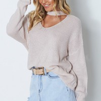 Clansy Knit Taupe