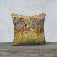 18x18 Pillow Cover - Throw Pillow Cover Pillowcase  - Updated Pillow Cover - Gradient Pastel Floral Pillowcase