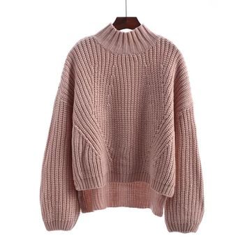 Molly Cable Knit Oversized Sweater