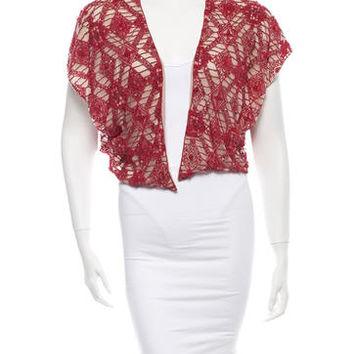 Alice + Olivia Beaded Shrug w/Tags