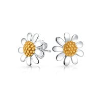 Bling Jewelry Flower Power Studs