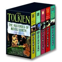 Amazon.com: The Histories of Middle Earth, Volumes 1-5 (9780345466457): J.R.R. Tolkien: Books
