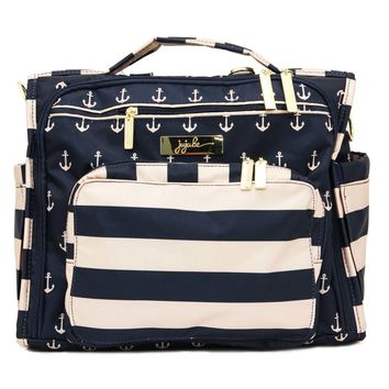 Ju-Ju-Be B.F.F. Tote/Backpack Style Diaper Bag - Legacy The Commodore