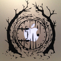 Hobbit Door Vinyl Decal