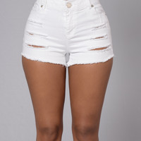 Method Madness Shorts - White
