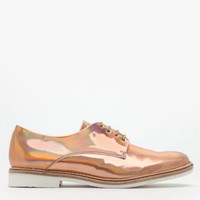 Miista / Zoe Brogue in Rosegold