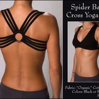 Spider Back Cross Yoga Top [SPICROSS-NEW] - $40.00 : Buddhaful, Unique and Unusual Clothing