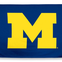 Michigan Wolverines Beach Towel