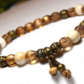 Neutral Colored Bracelet for Woman