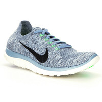 Nike Free 4.0 Flyknit Running Shoes | Dillards