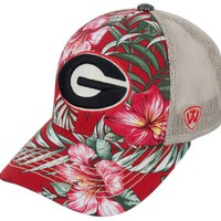 DCCKG8Q NCAA Georgia Bulldogs Top of the World Shore Style Hat