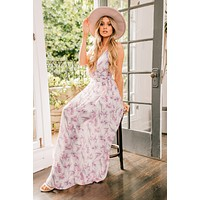 All The Flowers Floral Maxi Dress (Multi)