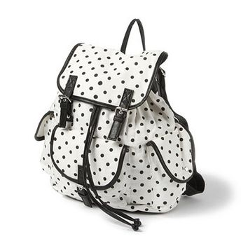 Polka Dot Backpack  | Claire's