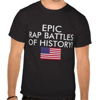 Epic Rap Battles of History Youtube Channel Shirt