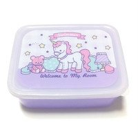 Happy Lunch Box (Unicorn) in Purple (Lavender) from SWIMMER