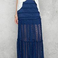 Esme Lace Maxi Skirt