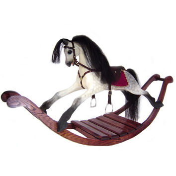 Dapple Heirloom Rocking Horse