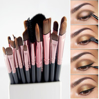 20Pcs paintbrushes of makeup Brushes Set Powder Foundation Eyeshadow Eyeliner Lip Brush Pro Makeup for Mac Makeup Sosmetic Tool