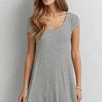 AEO Soft & Sexy T-Shirt Dress, Black | American Eagle Outfitters