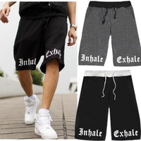 Outdoor Sports Shorts Men Plus Size Loose Skull Printed Sport Basketball Shorts Male Bermuda Beach Clothing