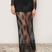 Witchy Woman Maxi Skirt