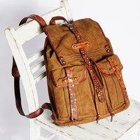 Free People Napoli Distressed Backpack