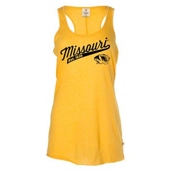 Official NCAA University of Missouri Tigers Mizzou Tigers MU Women's Racerback Tank Top