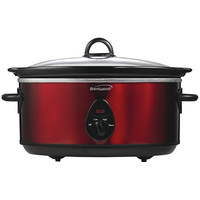 6.5Qt Slow Cooker Red