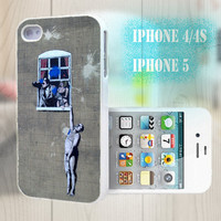 unique iphone case, i phone 4 4s 5 case,cool cute iphone4 iphone4s 5 case,stylish plastic rubber cases cover,funny man graffito bp975