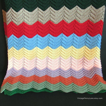 Best Crochet Chevron Blanket Products On Wanelo
