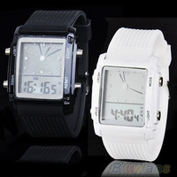 Fashion Womens Mens Digital LED Chronograph Quartz Sport Wrist Watch = 1651170436