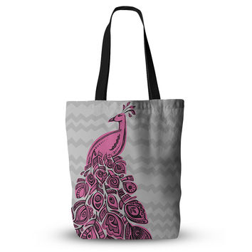 "Brienne Jepkema ""Peacock Pink"" Everything Tote Bag"