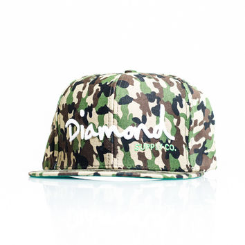 Diamond Supply Co. OG Snapback - Diamond Camo